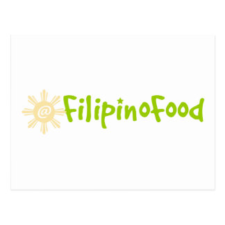 Filipino Food Postcard