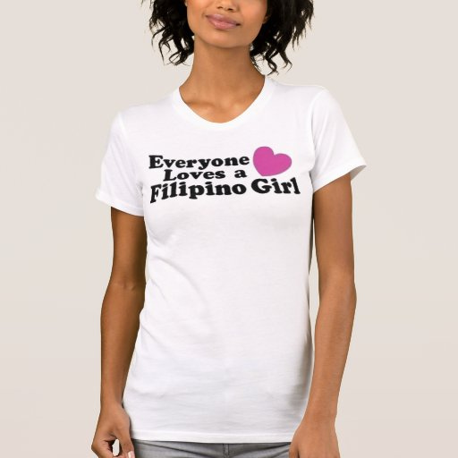 Filipino Girl T Shirts