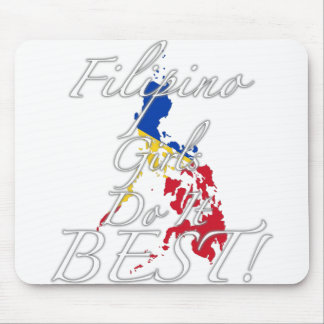 Filipino Girls Do It Best! Mouse Pad