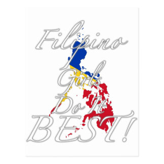Filipino Girls Do It Best! Postcard