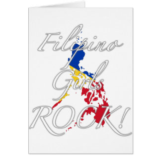 Filipino Girls Rock! Card