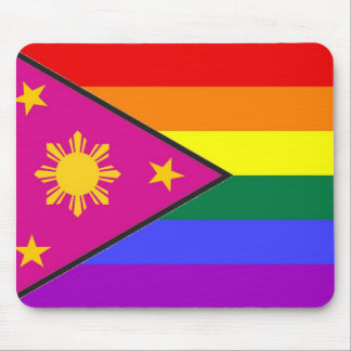 Filipino GLBT Pride Flag Mouse Pad