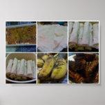 Filipino Homemade Food Dessert Mosaic Poster