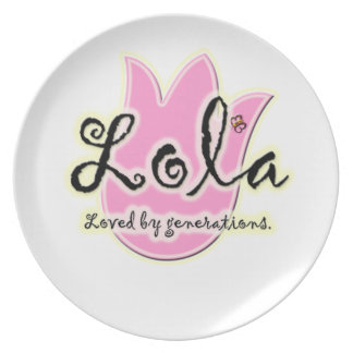 Filipino Lola Mother's Day Gift Plate