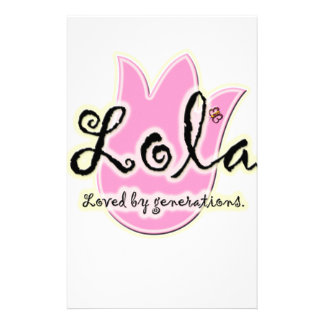 Filipino Lola Mother's Day Gift Stationery