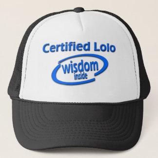 Filipino Lolo Gift – Certified Lolo Wisdom Inside Trucker Hat
