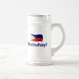 ¡Filipino Mabuhay! Jarra De Cerveza