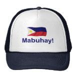 Filipino Mabuhay! Trucker Hat