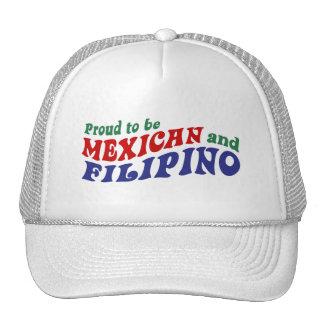 Filipino mexicano gorras de camionero