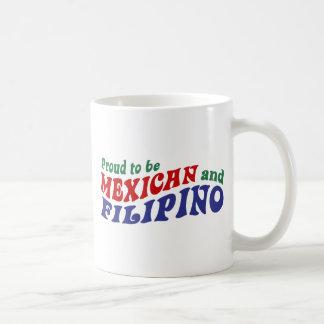 Filipino mexicano taza clásica