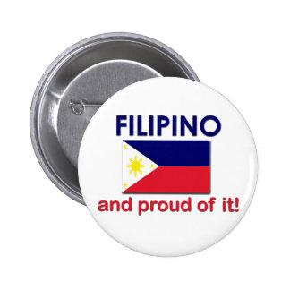 Filipino orgulloso pin