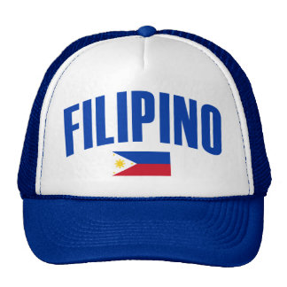 Filipino Philippine Flag Trucker Hat