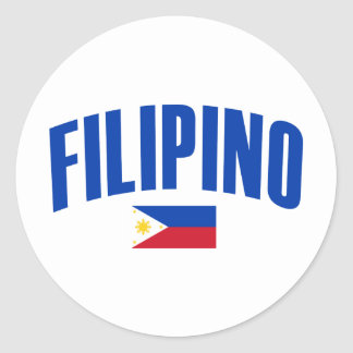 Filipino Philippine Flag Stickers