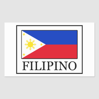 Filipino Rectangular Sticker