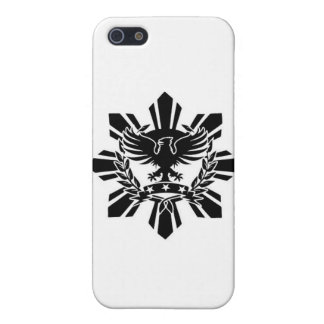 Filipino sun and eagle crest cover for iPhone SE/5/5s