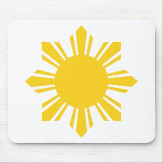 Filipino Sun el | Filipinas Sun Alfombrillas De Ratones