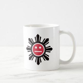 Filipino Sun Face - Red Mug