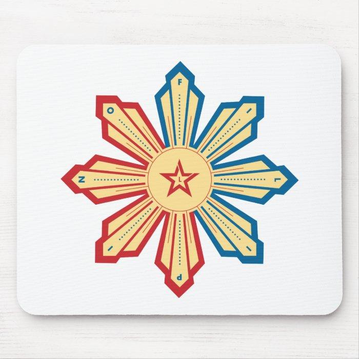 Filipino Sun - LS Mouse Pad