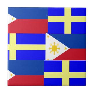 FILIPINO-SWEDISH CERAMIC TILE