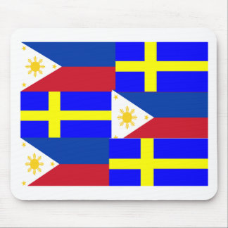 FILIPINO-SWEDISH MOUSE PAD