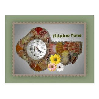 Filipino Time Postcard - Philippine Design