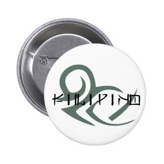 Filipino tribal pin redondo 5 cm