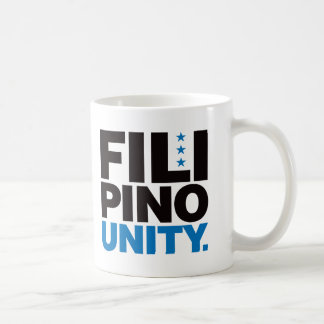Filipino Unity - Blue and Black Coffee Mug
