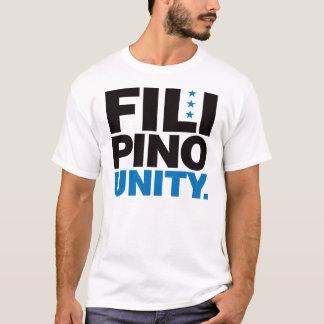 Filipino Unity - Blue and Black T-Shirt