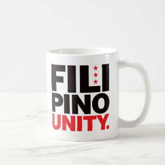 Filipino Unity - Red and Black Coffee Mug