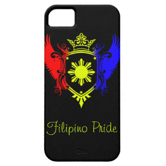 Filipino Winged Colored Crest iPhone Case iPhone 5 Cover