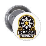 Filipino X-Grande - negro Pins
