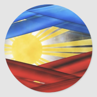 filipinos_colors-2560x1600 classic round sticker