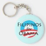 Filipinos for Obama Keychain