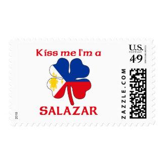 Filipinos personalizada me besan que soy Salazar