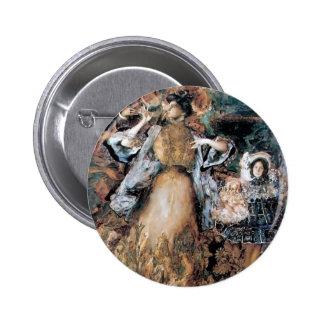 Filipp Malyavin- Portrait of artist's family Button