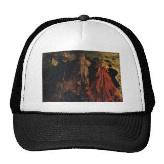Filipp Malyavin- Three women Mesh Hats