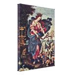 Filippino Lippi - alegoría de la música Lona Envuelta Para Galerias