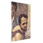 Filippino Lippi - cara de un malvado Lienzo Envuelto Para Galerias