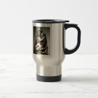 Filippo Brunelleschi- Madonna with Child 15 Oz Stainless Steel Travel Mug