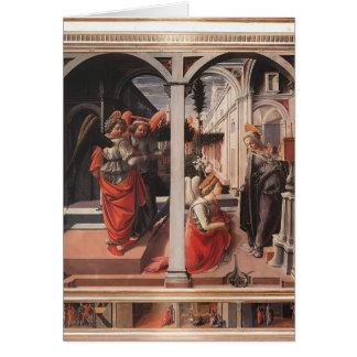 Filippo Lippi- Annunciation Card