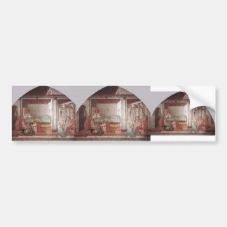 Filippo Lippi: Birth and Naming St. John Bumper Stickers
