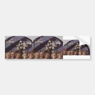 Filippo Lippi- Coronation of the Virgin (detail) Bumper Sticker