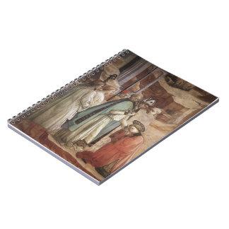 Filippo Lippi: Discusión en la sinagoga Cuadernos