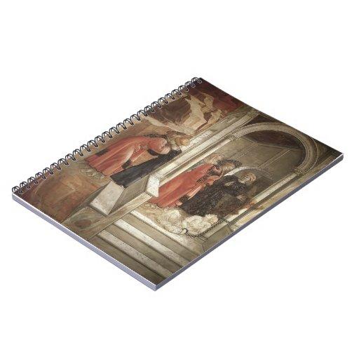 Filippo Lippi: Discusión en la sinagoga Note Book