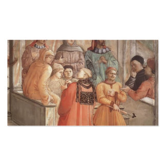 Filippo Lippi: Discusión en la sinagoga Tarjetas De Visita