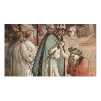Filippo Lippi: Disputation in the Synagogue Business Cards