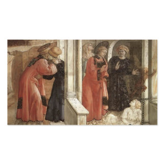 Filippo Lippi: Disputation in the Synagogue Business Card