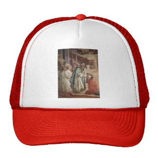 Filippo Lippi: Disputation in the Synagogue Hats