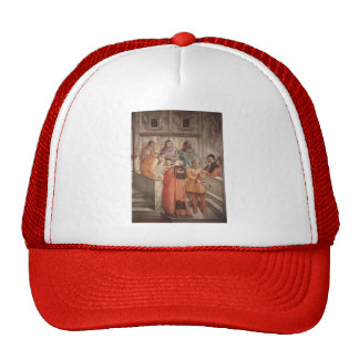 Filippo Lippi: Disputation in the Synagogue Hat
