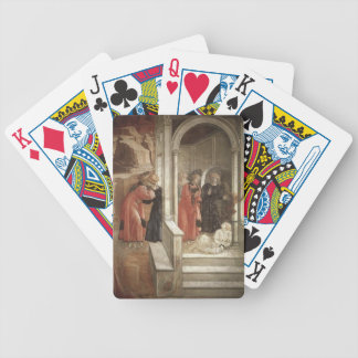 Filippo Lippi Disputation in the Synagogue Bicycle Poker Cards
